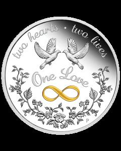 2021 澳洲唯一的爱 .9999精铸银币 1盎司