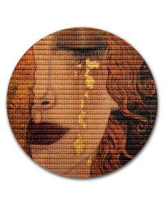 2020年 纽埃 矩阵艺术-古斯塔夫·克里姆特金眼泪 .999银币 3盎司