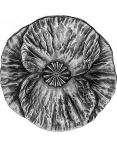 2020 加拿大 国殇纪念日 .9999 精铸仿古银币28.5 克
