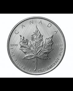 2021-W 加拿大枫叶 .9999银币 1盎司