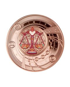 2021 喀麦隆 神奇的星座-天秤座 .999银币