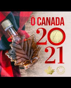 2021年加拿大钱币礼品套装