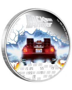2020 纽埃回到未来35周年 .999精铸银币1盎司