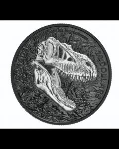 2021 加拿大 发现恐龙:死神.9999银币 1盎司