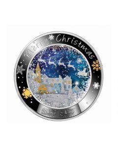 2020年 纽埃 快乐的圣诞节 .999精制银币17.5克