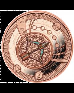 2020 喀麦隆 神奇的星座-射手座 .999银币